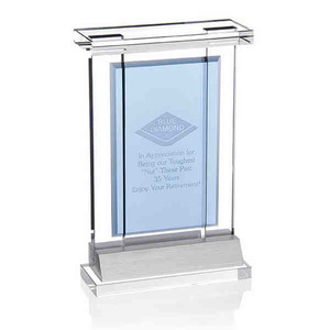 Custom Imprinted Optical Crystal Achievement Awards