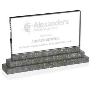 Custom Imprinted Optical Crystal and Marble Awards!