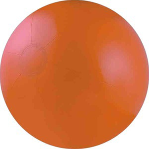 Solid Color Beach Balls - Orange Solid Color Beach Balls