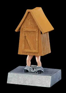 Custom Made Outhouse Bobbleheads