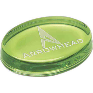 Oval Paperweights -
