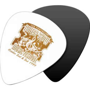 Custom Imprinted Oversized Guitar Picks