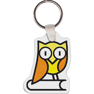 Bird Shaped Keytags - Owl Bird Shaped Keytags