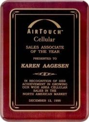 Custom Engraved Tropar Honor Award Plaques!