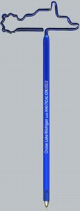Boating Themed Items - Paddlewheel Boat Bent Shaped Pens