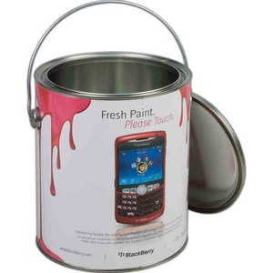 Custom Printed Paint Cans