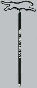 Custom Imprinted Panther Bent Shaped Pens!