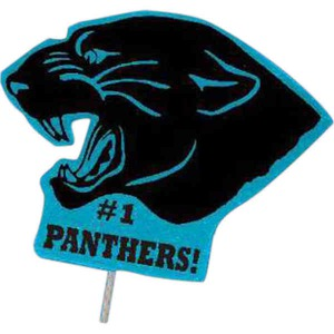 Custom Imprinted Panther Mascot Signs