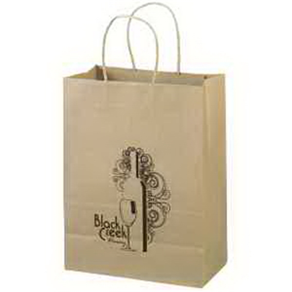 Custom Imprinted Small Environmentally Friendly Paper Bags!