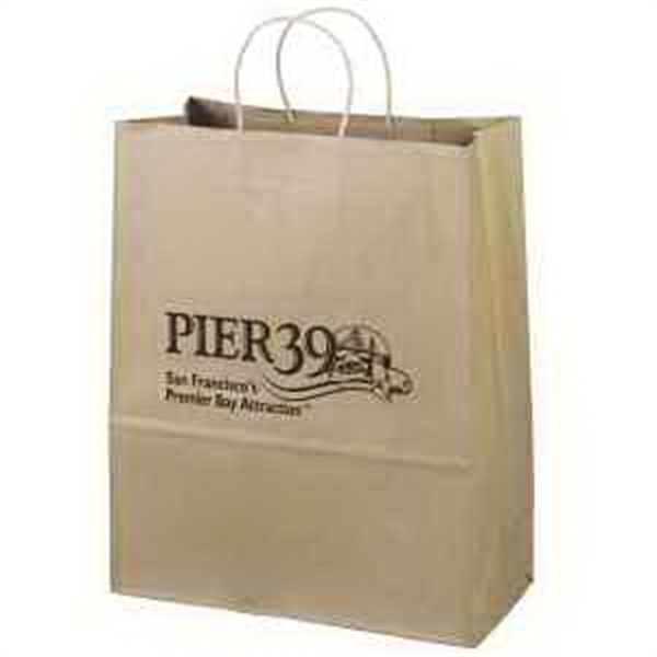 Custom Printed Medium Environmentally Friendly Paper Bags