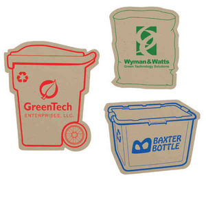 Recycled Material Magnets - Paper Bag Recycled Material Magnets