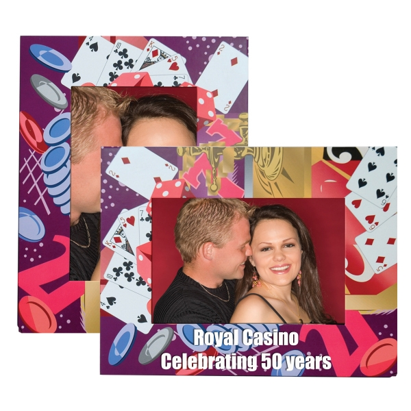 Custom Printed Casino Paper Picture Frames