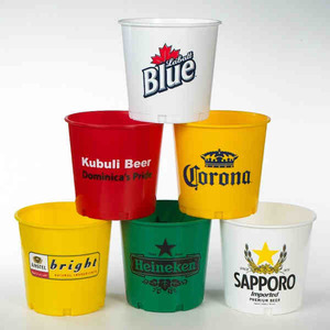 Motel and Hotel Industry Promotional Items - Party Buckets