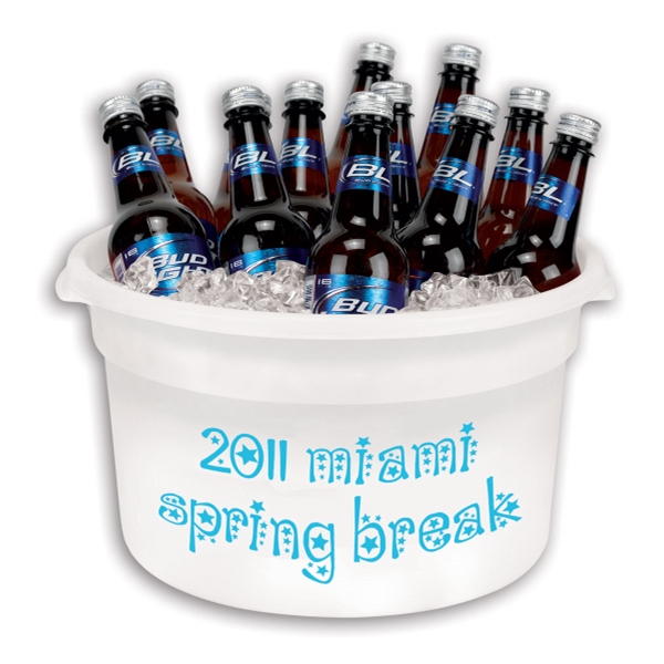 Custom Imprinted Party Buckets!