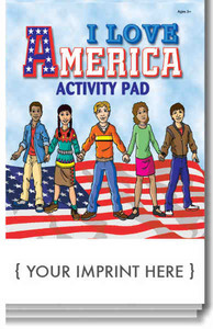 Patriotic Themed Promotional Items - Patriotic Themed Activity Pads