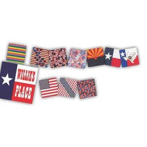 Patriotic Themed Promotional Items - Patriotic Themed Bandannas