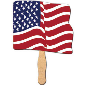 Patriotic Themed Promotional Items - Patriotic Themed Paper Fans
