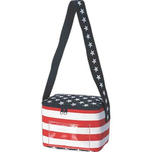 Custom Imprinted Patriotic Themed Picnic Coolers!