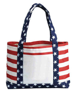 Patriotic Themed Promotional Items - Patriotic Themed Tote Bags