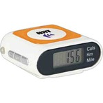 Custom Imprinted Pedometers with Safety Protective Alarms!