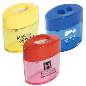 Custom Imprinted Pencil and Crayon Sharpeners