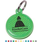 Custom Printed Pet Collar Reflector Danglets!