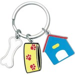 Custom Printed Pet Key Chain Charms!