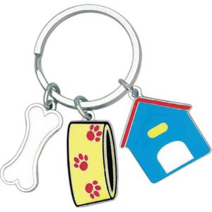 Pet Themed Promotional Items - Pet Key Chain Charms