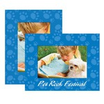 Custom Printed Pet Paper Picture Frames!