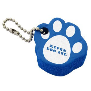 Custom Imprinted Pet Paw Floating Keychains