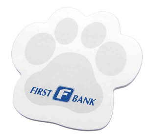 Custom Imprinted Pet Paw Shaped Note Pads!
