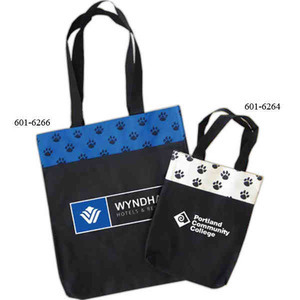 Pet Themed Promotional Items - Pet Paw Tote Bags