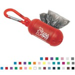 Custom Printed Pet Waste Bag Dispensers with Carabiners!