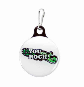 Custom Imprinted Photo Quality Metal Back Zipper Pulls