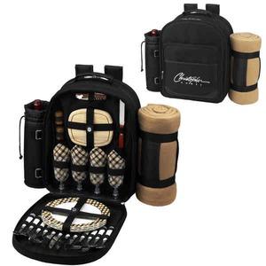 Custom Imprinted Picnic Backpack Kits