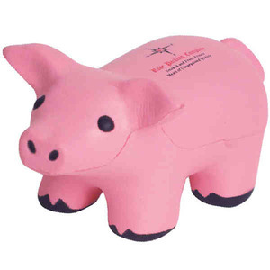 Personalized Pig Stress Relievers