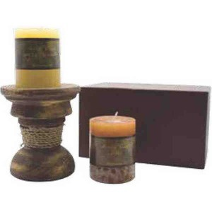 Candles - Pillar Gift Box Candles