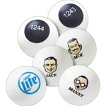Custom Imprinted Ping Pong Balls