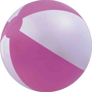 Alternating Color Beach Balls - Pink and White Beach Balls