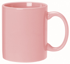 Pink Color Promotional Items - Pink Color Mugs