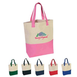Pink Color Promotional Items - Pink Color Tote Bags