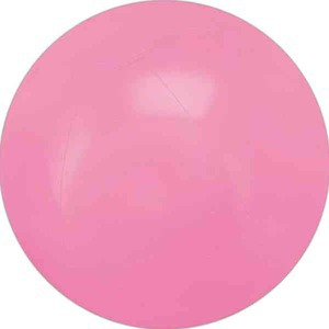 Custom Designed Pink Solid Color Beach Balls