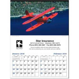 Personalized Planes Executive Calendars!