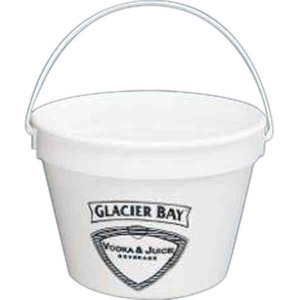 Custom Decorated Plastic Pails