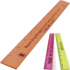 Custom Imprinted Plastic Rulers