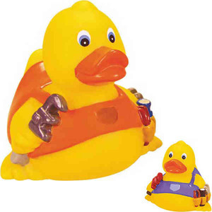 Plumbing Industry Promotional Items - Plumber Rubber Ducks