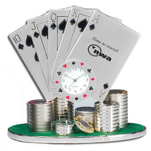 Custom Imprinted Poker Clocks