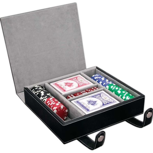 Las Vegas Themed Promotional Items - 100 Chip Professional Poker Sets
