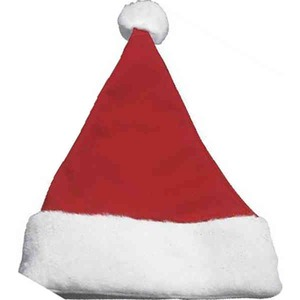 Custom Imprinted Polyester Santa Hats