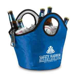 Custom Imprinted Portable Ice Buckets!